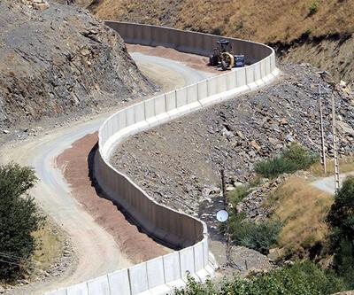 Yüksekova sınırındaki duvar tamamlandı