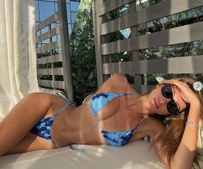 Şevval Şahin'in bikinili pozları sosyal medyaya damga vurdu