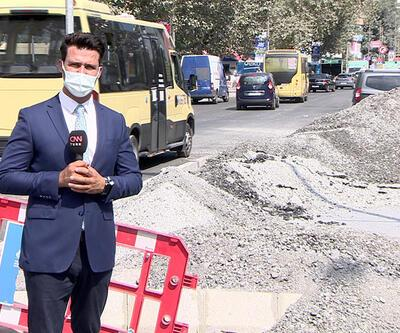 Alt yapı inşaatı şikayetlere neden oldu
