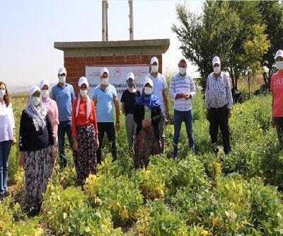 İnönü'de, kadın çiftçilere tanıtım toplantısı