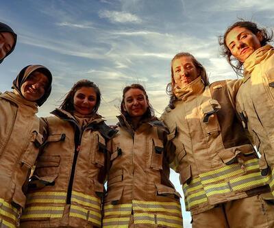 36 kadın itfaiyeci göreve başlayacak