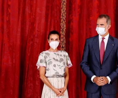 İspanya Kraliçesi Letizia, kayınvalidesinin 40 yıl önceki elbisesini giydi