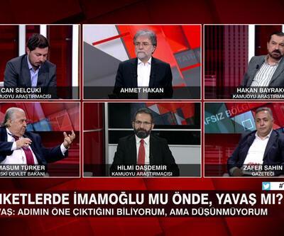 Anketlerde İmamoğlu mu önde, Yavaş mı? CHP Kılıçdaroğlu mu diyor, İmamoğlu mu? Tarafsız Bölge'de tartışıldı