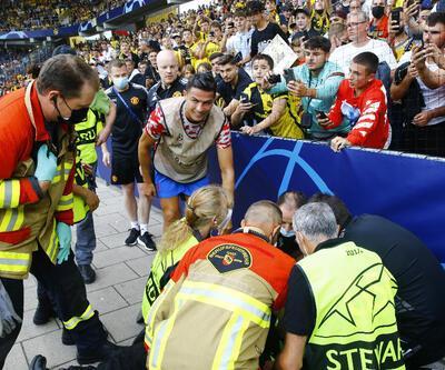 Ronaldo az kalsın hastanelik ediyordu