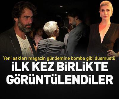 Sarp Levendoğlu ile Naz Çağla Irmak ilk kez birlikte görüntülendi