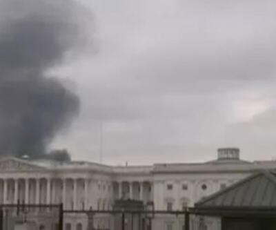 Son dakika... Washington'da yangın paniği!
