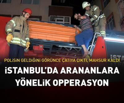 İstanbul'da aranan hükümlülerin yakalanması için operasyon
