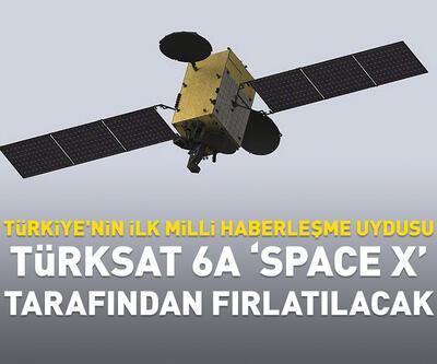 """Türksat 6A """"Space X"""" tarafından fırlatılacak"""