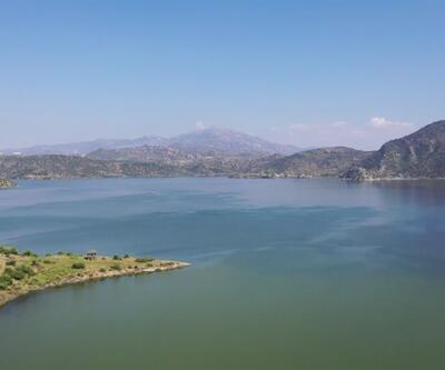 Bafa Gölü kuraklıktan kurtarıldı