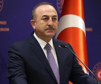 Çavuşoğlu, Fransız mevkidaşı ile görüştü