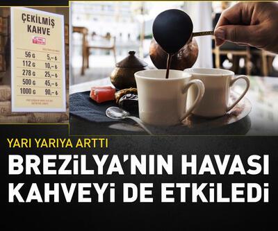 Kahve fiyatları yarı yarıya arttı