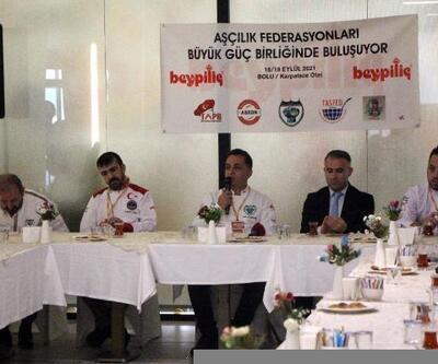 Ünlü aşçılar Bolu'da bir araya geldi