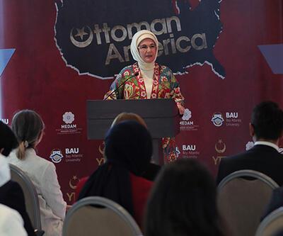 Emine Erdoğan, Osmanlı'nın Amerika'sı Belgeseli tanıtımına katıldı