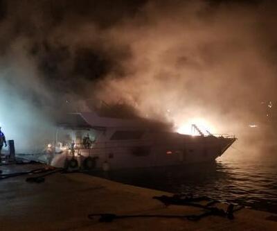 Aynı tekne ikinci kez yandı