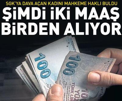 SGK'ya dava açan kadını mahkeme haklı buldu: Şimdi iki maaş alıyor