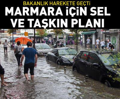 Marmara'da sel kaygısı bakanlığı harekete geçirdi