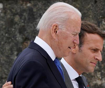 """Macron ve Biden, """"denizaltı krizini"""" telefonda görüştü"""