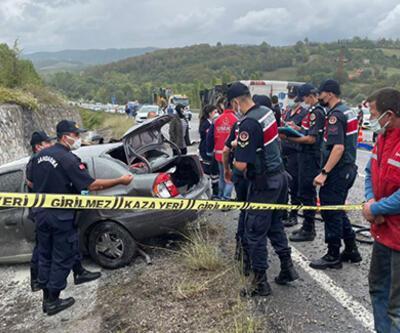 Yolcu otobüsü ile otomobil çarpıştı: 3 kişi öldü
