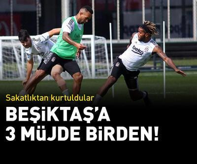 Beşiktaş'a 3 müjde birden!