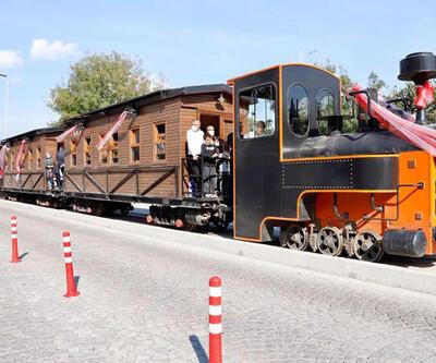 Tarihi tren tekrar raylara kavuştu