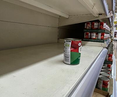 İngiltere'de marketlerde raflar boş kaldı