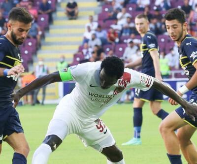 Fenerbahçe Hatay'dan 3 puanı aldı
