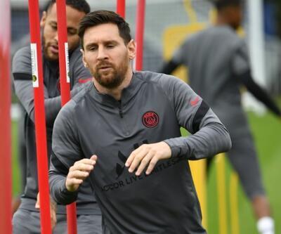 PSG'de Lionel Messi sevinci