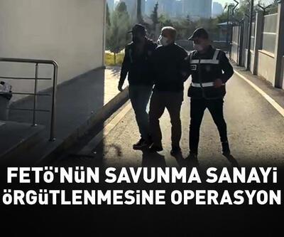 FETÖ'nün 'savunma sanayi örgütlenmesi'ne operasyon