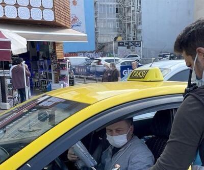 Taksicilere yönelik denetimler sürüyor