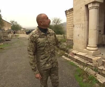 Aliyev'den İran'a tepki