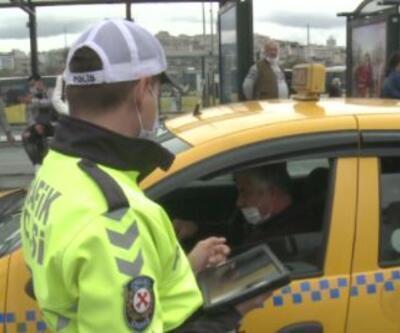 Kural ihlali yapan taksicilere ceza