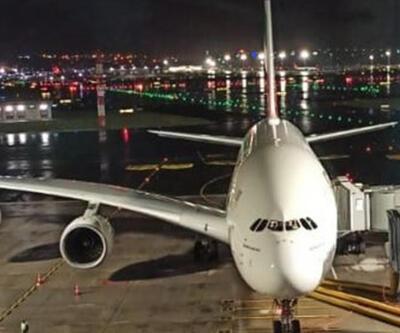 Dev uçak bu kez kalp krizi geçiren yolcu için İstanbul'a acil iniş yaptı