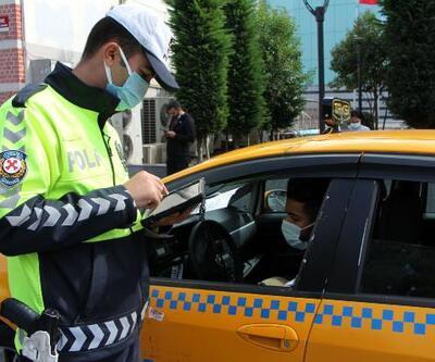 Şişli'de taksicilere denetim