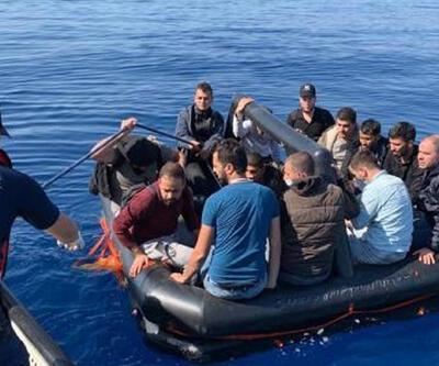 Marmaris'te 75 kaçak göçmen kurtarıldı