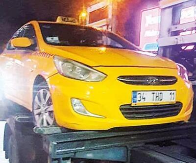 Taksimetreli korsan taksi: Trafikten men edildi