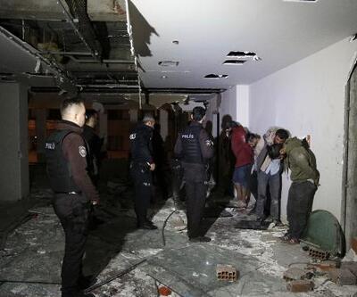 Zarrab'ın el konulan binasına dadanan hırsızlara akşam baskını