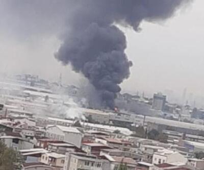 Bursa'da tekstil fabrikası yangını
