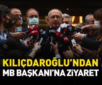 Kılıçdaroğlu'ndan Merkez Bankası Başkanı Kavcıoğlu'na ziyaret