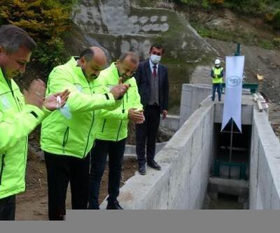 Karadere tünelinde ilk su denemesi yapıldı