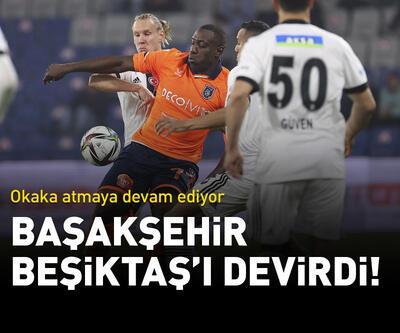 Başakşehir, Beşiktaş'ı devirdi!