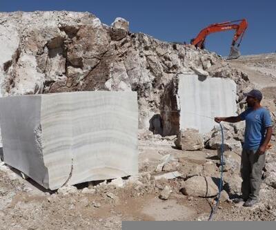 Diyadin'de çıkarılan onyx mermerinden hediyelik eşya yapılacak