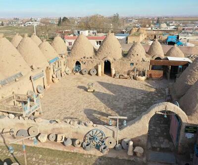 Harran'ın yazın serin kışın sıcak evleri