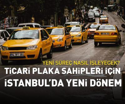 Ticari plaka sahipleri için İstanbul'da yeni dönem
