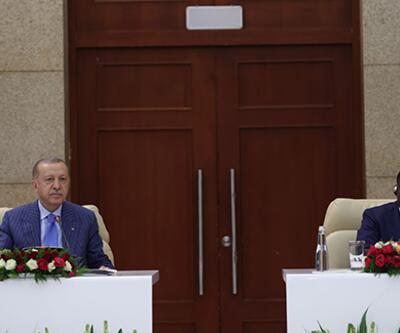 Son dakika haberi... Cumhurbaşkanı Erdoğan'dan Togo'da açıklama