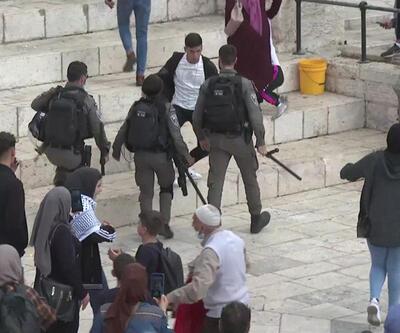 İsrail polisi yine şiddet uyguladı