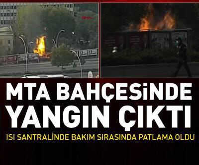Ankara'da korkutan patlama sesi