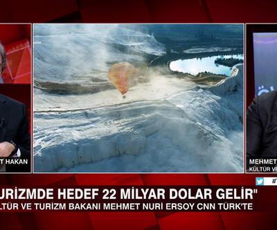 Bakan Mehmet Nuri Ersoy turizmdeki son durumu, hedefleri ve yeni projeleri Tarafsız Bölge'de anlattı