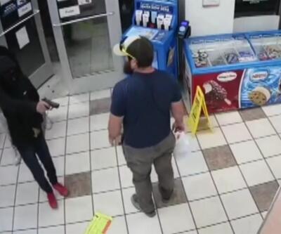 Maskeli hırsızlar sert kayaya çarptı