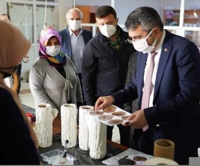 Yıldırım Belediye Başkanı Yılmaz, YIL-MEK'i ziyaret etti
