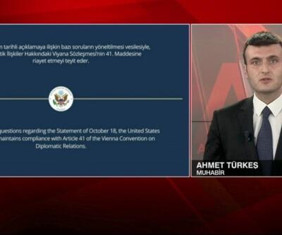 Son dakika... 10 büyükelçinin Kavala çıkışına tepkilere ilişkin ABD Büyükelçiliği'nden açıklama